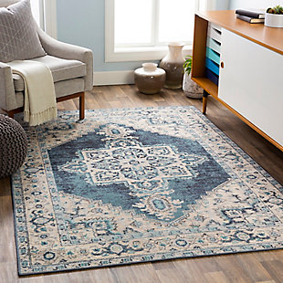 Surya City light Area Rug, Blue, rollover