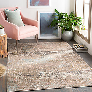 Surya Thompson Area Rug, Red, rollover