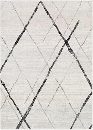 Surya Elaziz Area Rug, Gray, large
