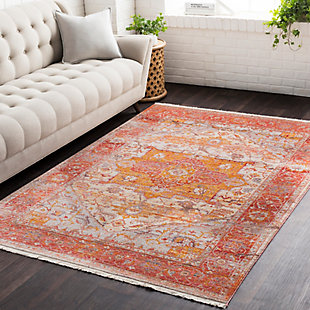 Surya Price Area Rug, Red, rollover