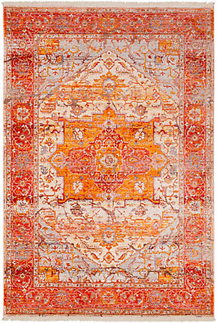 Surya Price Area Rug, Red, large