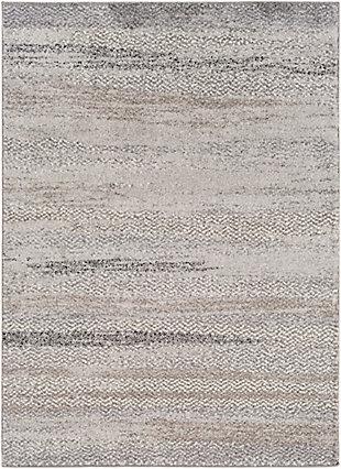 Surya Clark Area Rug, Gray, large