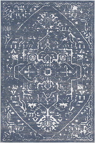 Surya Long Area Rug, Blue, large