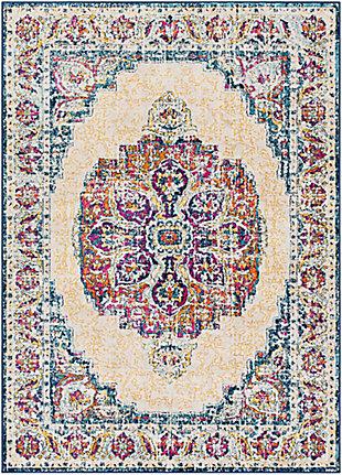 Surya Floransa Area Rug, Blue, large