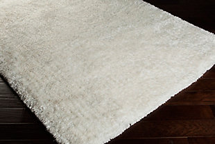 Surya Ross Area Rug, White, rollover