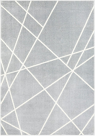 Surya Hall Area Rug, Gray, large