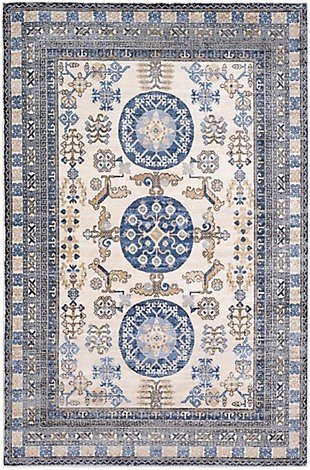 Surya Allen Area Rug, Blue, large