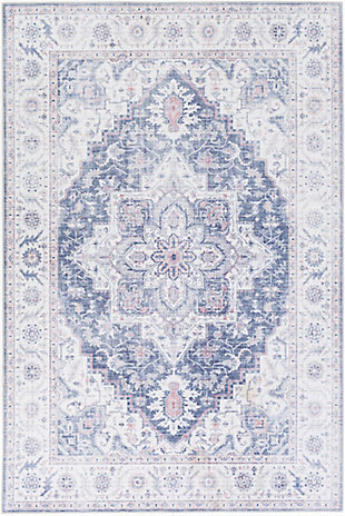 Surya Sanchez Area Rug, Blue, large