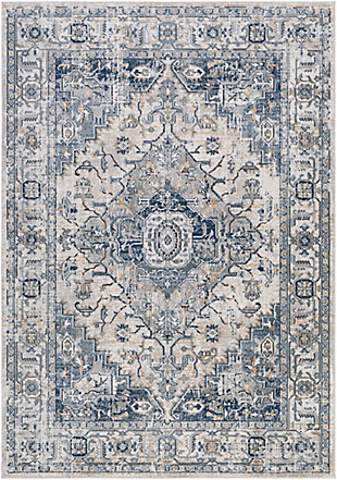 Surya Scott Area Rug, Blue, large
