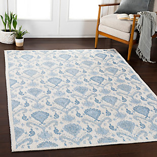 Surya Russell Area Rug, Blue, rollover
