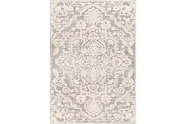 Surya Mitchell Area Rug, Gray, large