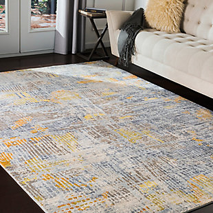 Surya Phillips Area Rug, Gray, rollover