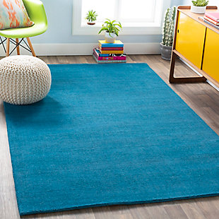 Surya Jenkins Area Rug, Blue, rollover