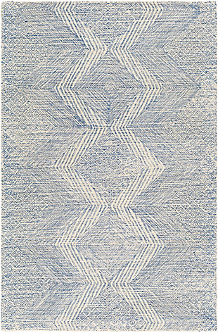 Surya Evans Area Rug, Blue, large