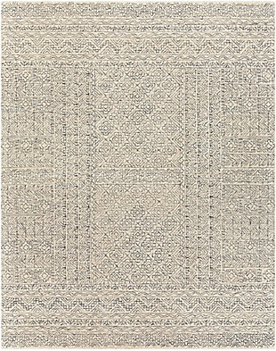 Surya Evans Area Rug, Gray, large