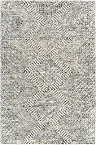 Surya Evans Area Rug, Gray, large
