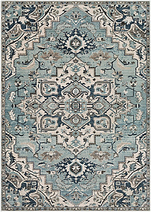 Surya Turner Area Rug, Blue, large