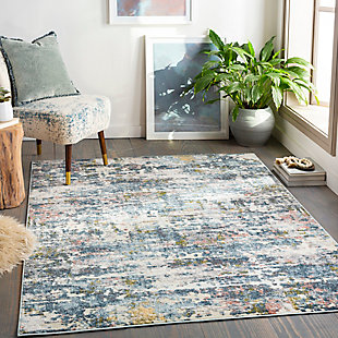 Surya Edwards Area Rug, Blue, rollover