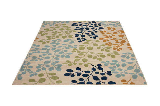 Home Accents Caribbean Indoor/Outdoor Rug, , large
