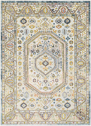 Surya Edwards Area Rug, Green, large