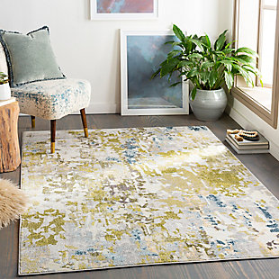 Surya Edwards Area Rug, Green, rollover