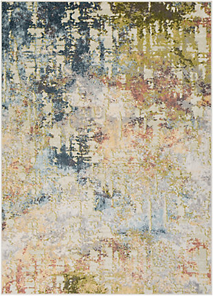 Surya Edwards Area Rug, Blue, large