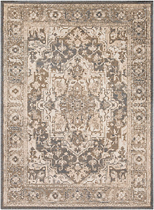 Surya Oslo Area Rug, Gray, large