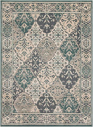 Surya Oslo Area Rug, Blue, large