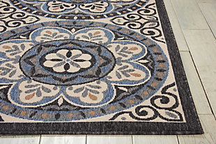 "Home Accents Caribbean 5'3"" x 7'5"" Indoor/Outdoor Rug, , rollover"