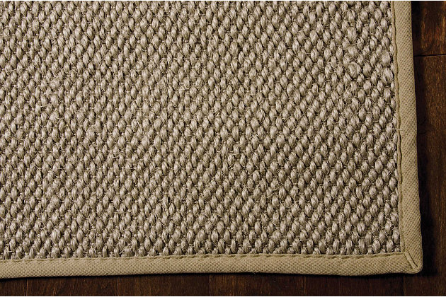 """Home Accents Kerala  5' x 7'6"""" Rug, Taupe, large"""