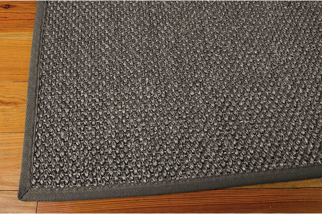 "Home Accents Kerala  5' x 7'6"" Rug, Gray, large"