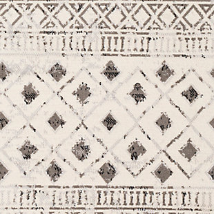 Surya Pisa Area Rug, Gray, large