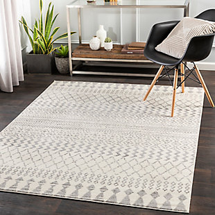 Surya Pisa Area Rug, Gray, large