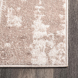 "NuLoom Margot Strained Abstract 5' 3"" x 7' 6"" Area Rug, Beige, large"