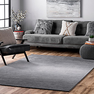 NuLoom Hand Tufted Ombre Bernetta 5' x 8' Area Rug, Gray, rollover