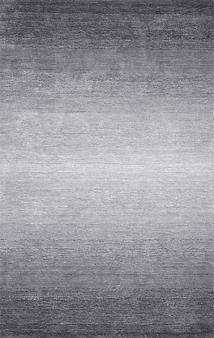 NuLoom Hand Tufted Ombre Bernetta 5' x 8' Area Rug, Gray, large