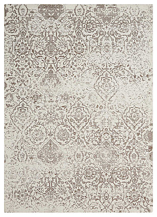 Home Accents Damask  8' x 10' Rug, , large