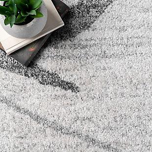 NuLoom Thigpen Broken Lattice 5' x 8' Area Rug, Gray, large