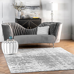 NuLoom Deedra Mist Shades 5' x 8' Area Rug, Gray, rollover