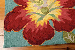 "Home Accents Fantasy 5' x 7'6"" Rug, Multi, rollover"