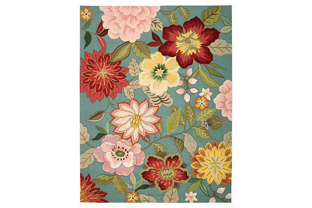 """Home Accents Fantasy 8' x 10'6"""" Rug, Multi, large"""