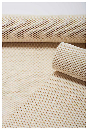 """Nourison Firm Grip Pad 4'8"""" X 7'6"""" Rug Pad, Ivory, large"""