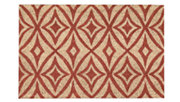"Home Accents 1'6"" x 2'4"" Centro Doormat, Henna, large"