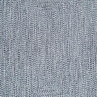 "NuLoom Braided Lefebvre Indoor/Outdoor 7' 6"" x 9' 6"" Area Rug, Light Blue, large"