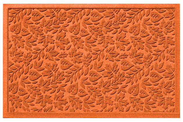 Home Accents 2' x 3' Fall Day Indoor/Outdoor Doormat, Orange, large