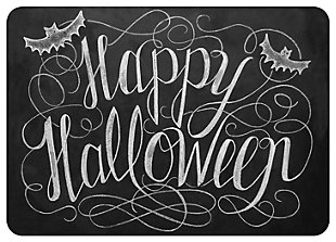 "Home Accents 1'10"" x 2'7"" Happy Halloween Doormat, , rollover"