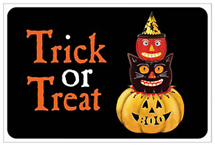 "Home Accents 1'6"" x 2'3"" Trick or Treat Doormat, , large"