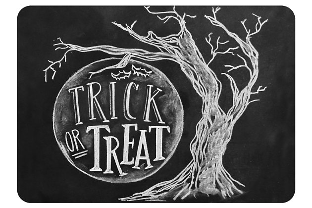 """Home Accents 1'10"""" x 2'7"""" Trick or Treat Moon Lily & Val Doormat, , large"""