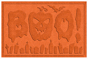 Home Accents 2' x 3' Boo Graveyard Indoor/Outdoor Doormat, , large