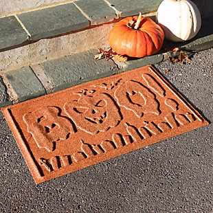 Home Accents 2' x 3' Boo Graveyard Indoor/Outdoor Doormat, , rollover